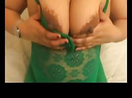 Hot chubby arab dancing & showing for lover