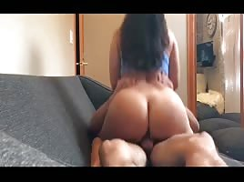 Amazing ass girl riding