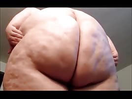 Huge SSBBW Booty From Above POV