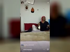 big pop IG live stripper