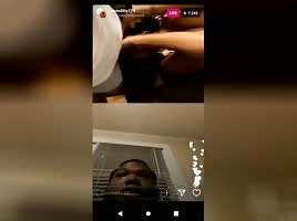 Thot Sucking Dick On Instagram Live