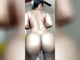 Sexy chick strip naked