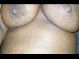 Big titties Ebony amateur